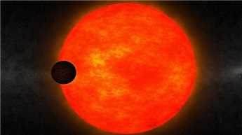 Giant exoplanet orbiting a cool small star found