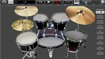 Become professional guitarist, drummer with this app