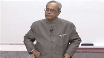 Please call me Mukherjee sir, President asks students