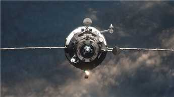 Russian spacecraft successfully docks with ISS