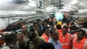 MP train tragedy: Flooding of tracks caused derailment, says Railways