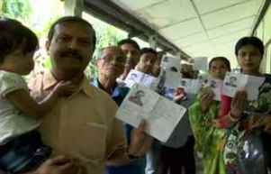 Polling underway for 3rd phase of Lok Sabha elections