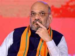 BJP president Amit Shah admitted to AIIMS for swine flu treatment