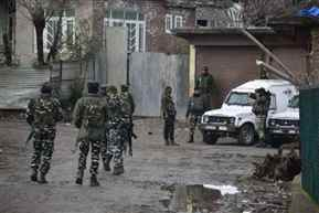 Three terrorists killed in separate encounters with security forces in J&K