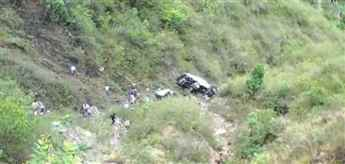 Bus accident Almora