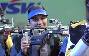 Apurvi Chandela wins gold in women's 10m air rifle