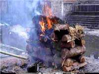 Cremation--Rajasthan