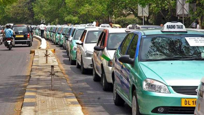 Delhi-taxi
