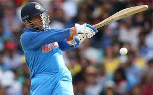 Dhoni's unbeaten 87 guides India to a historic ODI series win in Australia