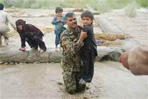 26 killed in flash floods in parts of Afghanistan and Pakistan