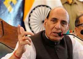 Kashmir is still a challenge due to destabilising activities of Pakistan: Rajnath Singh