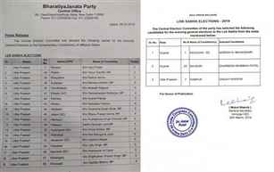 BJP, Congress release fresh lists of candidates for Lok Sabha seats