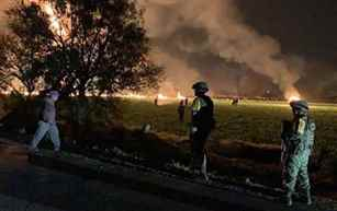 Mexico: 21 people killed in fuel pipeline explosion in central Hidalgo state
