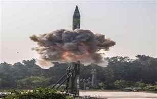 India successfully test-fires Inter-Continental Ballistic Missile Agni-5