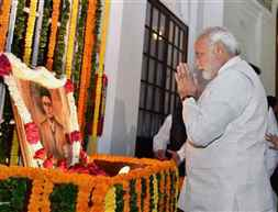 Modi-Savarkar-Tribute