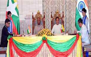 President Kovind extends India's support to Myanmar for peace process & economic recovery