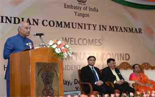 Prez Kovind extends India's support to Myanmar in national reconstruction and economic development