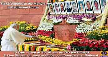 Nation pays homage to Parliament attack martyrs