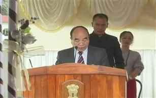 MNF Cheif Zoramthanga takes oath as Mizoram CM