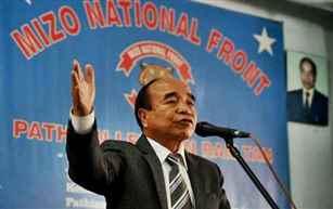 MNF Chief Zoramthanga to be sworn in as Mizoram CM