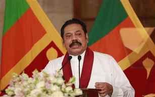 Sri Lankan Prime Minister Mahinda Rajapaksa to resign today