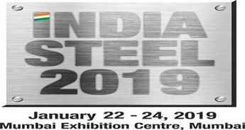 India Steel 2019 Exhibition and Conference to begin in Mumbai