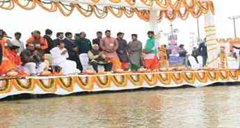 Vice President Venkaiah Naidu says rivers are our lifestreams, we all have to save them