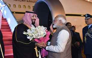 PM Modi to hold talks with Saudi Crown Prince Mohammad Bin Salman in New Delhi today