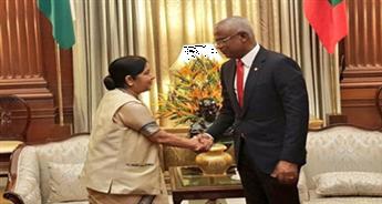 EAM Sushma to meet Maldives President Ibrahim Mohamed Solih