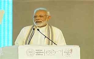 PM Modi inaugurates Sardar Vallabhbhai Patel Institute of Medical Sciences & Research
