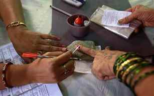 Repolling underway in one polling booth in Jamui, Bihar