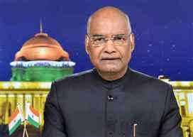 President Kovind greets people of Arunachal Pradesh, Mizoram on statehood day