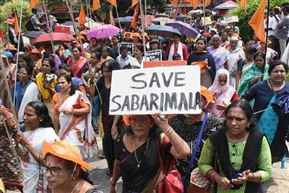 Kerala Assembly adjourned following massive uproar and protests over Sabarimala Temple issue