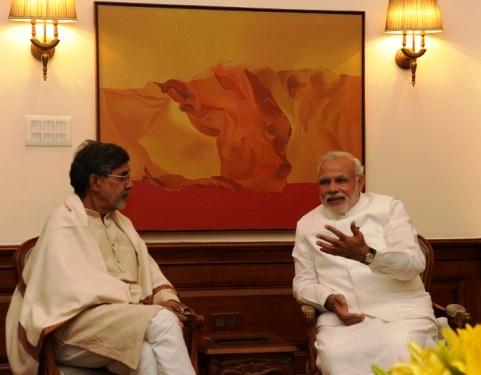 Satyarthi-Modi