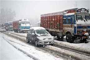 Srinagar-Jammu National Highway closed today after avalanche