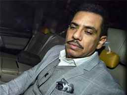 Robert Vadra again questioned by ED in New Delhi in money laundering case