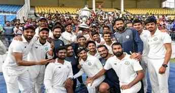 Vidarbha beat Rest of India to retain Irani Cup