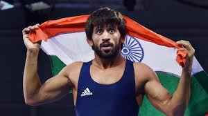 Bajrang regains top spot in world wrestling rankings