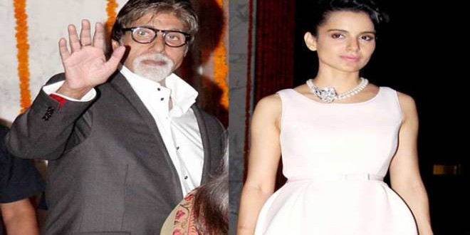 big b  and kangana