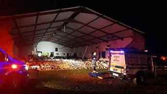 13 People killed in church collapsed in Durban, South Africa