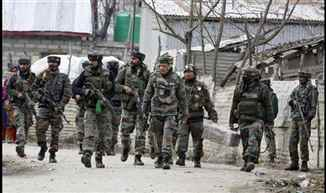 Three terrorists killed, One soldier martyred in encounter in Pulwama district