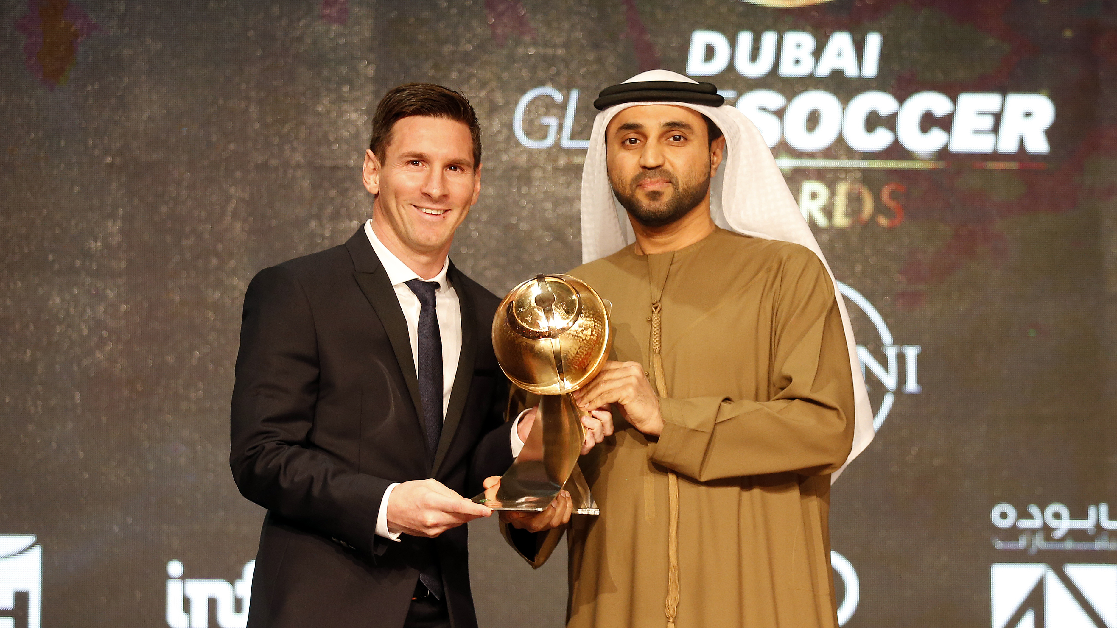 Messi Globe Player Of