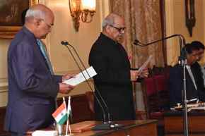 Justice PC Ghose takes oath as Lokpal