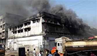 Maharashtra: Massive fire in Bhivandi near Thane
