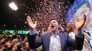 Ukraine election: Comedian Zelensky wins presidency by landslide victory