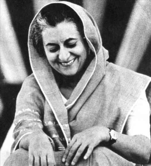 Mrs. Indira Priyadarshini Gandhi