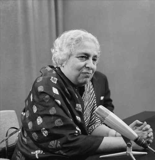 Mrs. Vijaya Lakshmi Nehru Pandit