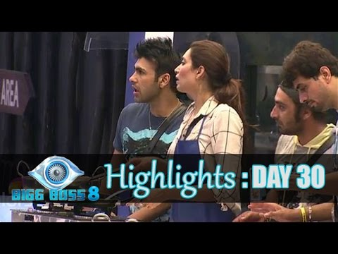 Bigg Boss 8 : Day 30 Highlights | Dessert Making Task