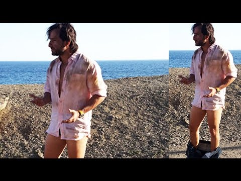 Saif Ali Khan TAKES OFF His Pants | Happy Ending