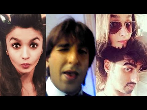 Bollywood Stars Obsessed Of Taking Selfies